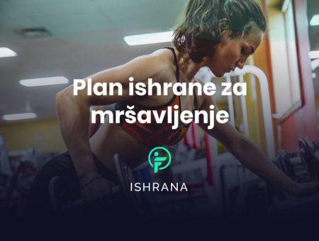 plan ishrane za mršavljenje